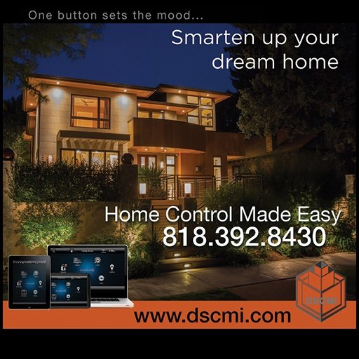 Smart Home Automation website design