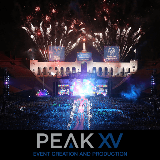 Website design for new Events Production Company PEAKXV