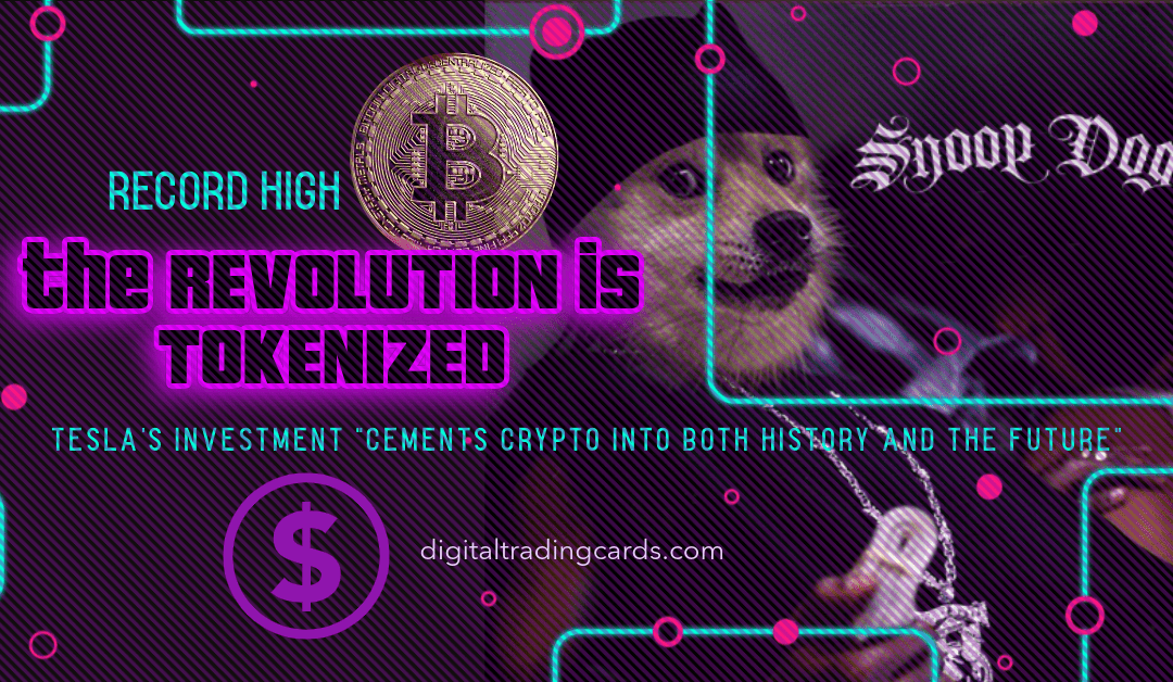 The crypto coin art revolution is tokenized BTC, ERC, DTC, NFT, ETH!